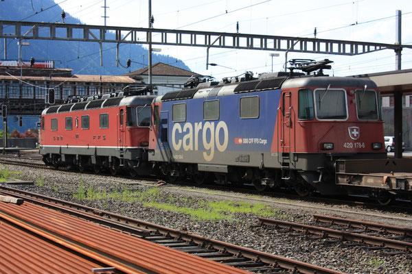 Re 4/4, 11178 (420 178-6 Cargo), Arth-Goldau (25.07.2010) ©pannerrail.com
