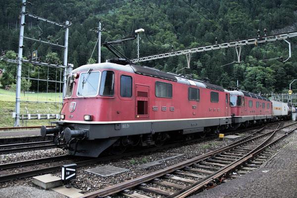 Re 4/4, 11329, Amsteg-Silenen (03.08.2013) ©pannerrail.com