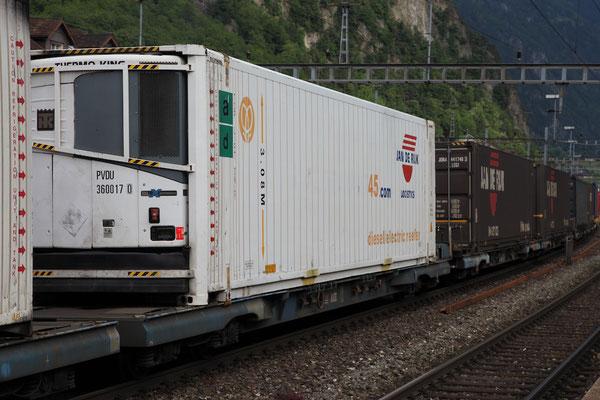 """Kombinierter Güterverkehr - Kühlcontainer """"Jan de Rijk"""""""