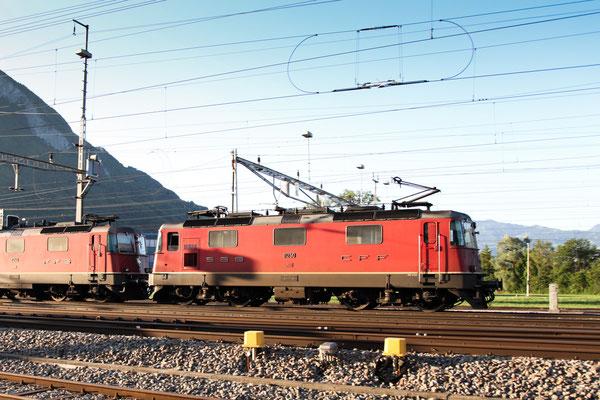 Re 4/4, 11250, Sargans (19.06.2011) ©pannerrail.com