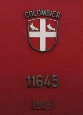 Wappen Colombier