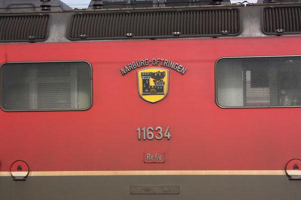 "Re 6/6 11634 ""Aarburg-Oftringen"", Landquart (23.08.2010) ©pannerrail.com"