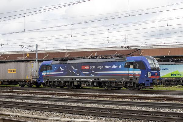 """SBB Cargo International, BR 193 532 """"Rhein"""", Pratteln (04.07.2021) ©pannerrail.com"""