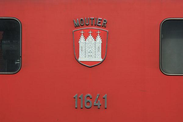 """Re 6/6 11641 """"Moutier"""", Buchs (14.08.2011) ©pannerrail.com"""