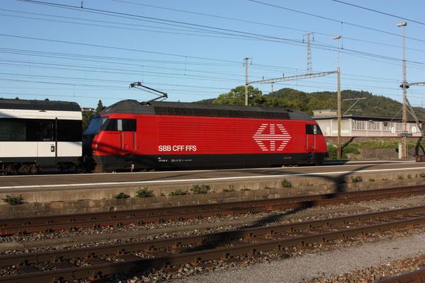 "Re 460 014-4 ""Val-du-Trient"", Killwangen, 30.08.2011 (©pannerrail.com)"