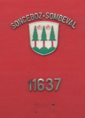 Wappen Sonceboz-Sombeval