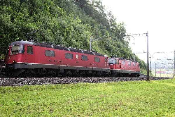 """Re 6/6 11676 """"Zurzach"""", Rotkreuz (07.07.2012) ©pannerrail.com"""