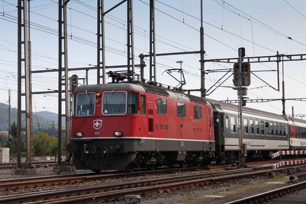 Re 4/4, 11191, Killwangen (06.09.2013) ©pannerrail.com