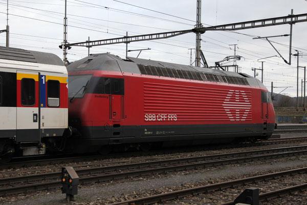 """Re 460 091-2 """"Werdenberg"""" , Killwangen, 28.12.2012 (©pannerrail.com)"""