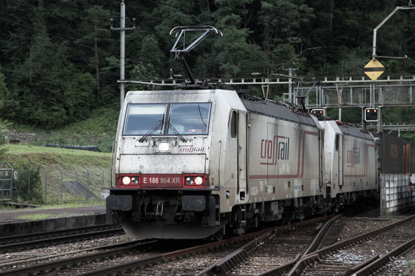 Crossrail, BR 186 904, Amsteg-Silenen (04.08.2013) ©pannerrail.com
