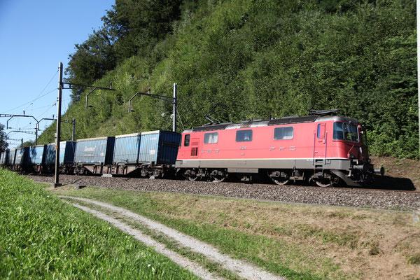 Re 4/4, 11359, Rotkreuz (03.09.2013) ©pannerrail.com