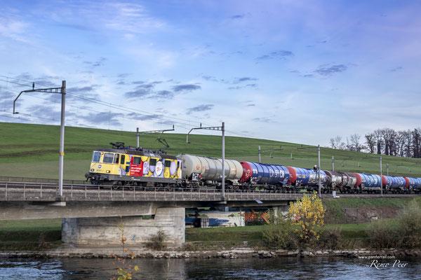 SBB Re 4/4 (Re 420) Werbelok - ©pannerrail.com