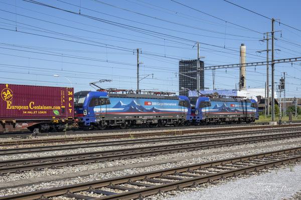 """SBB Cargo International, BR 193 531 """"Reuss"""", Pratteln (31.08.2020) ©pannerrail.com"""