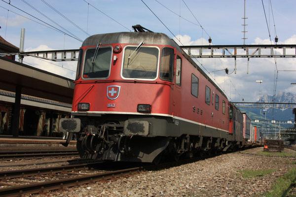 "Re 6/6 11643 ""Laufen"", Arth-Goldau (25.07.2010) ©pannerrail.com"