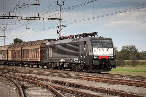 MRCE Dispolok BR 189 ES 64 F4-088, Oberrüti (28.11.2014)) ©pannerrail.com
