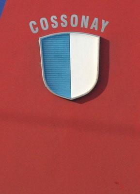 Re 6/6 Cossonay Gemeindewappen ©pannerrail.com