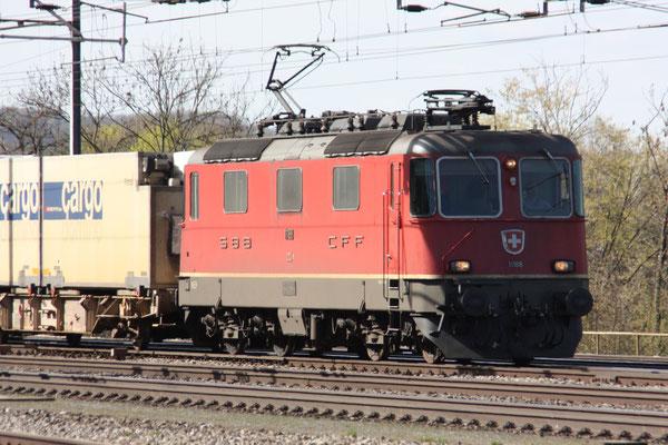 Re 4/4, 11188, Killwangen (06.04.2011) ©pannerrail.com