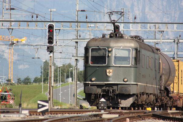 """Re 6/6 11663 """"Eglisau"""", Sargans (28.06.2011) ©pannerrail.com"""