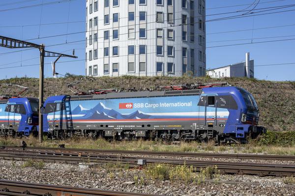 "SBB Cargo International, BR 193 517 ""Limmat"", Pratteln (10.09.2020) ©pannerrail.com"