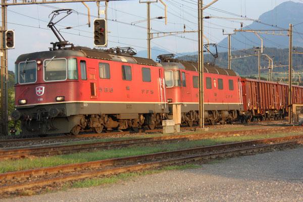 """Re 6/6 11613 """"Rapperswil"""", Oberrüti (15.07.2011) ©pannerrail.com"""