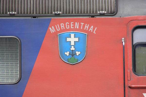 """Re 6/6 11674 """"Murgenthal"""", Buchs (14.08.2011) ©pannerrail.com"""
