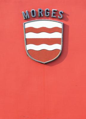 Re 6/6 Morges Gemeindewappen ©pannerrail.com