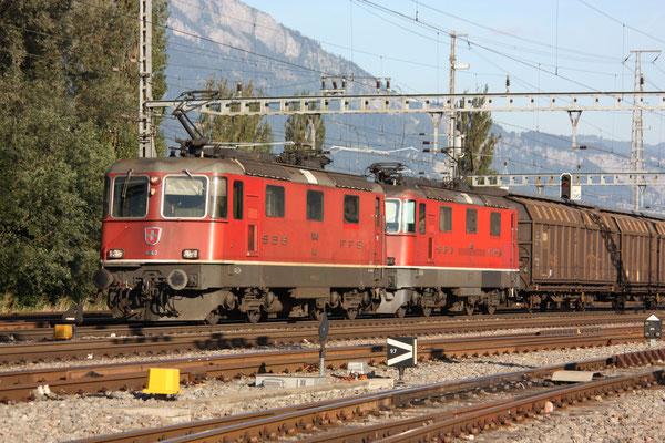 Re 4/4, 11343, Sargans (16.08.2011) ©pannerrail.com