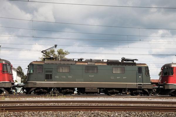 Re 4/4, 11330, Rotkreuz (11.09.2013) ©pannerrail.com