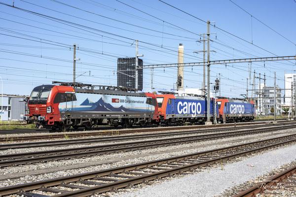 "SBB Cargo International, BR 193 468 ""Chiasso"", Pratteln (31.08.2020) ©pannerrail.com"