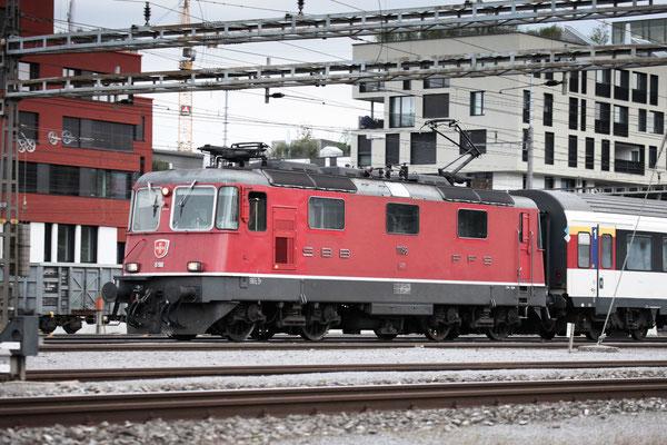 Re 4/4, 11156, Rotkreuz (20.09.2013) ©pannerrail.com