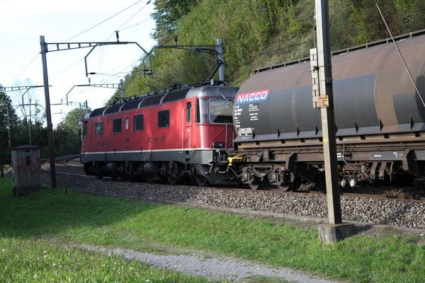 "Re 6/6  11618 ""Dübendorf"", Rotkreuz (07.07.2012) ©pannerrail.com"