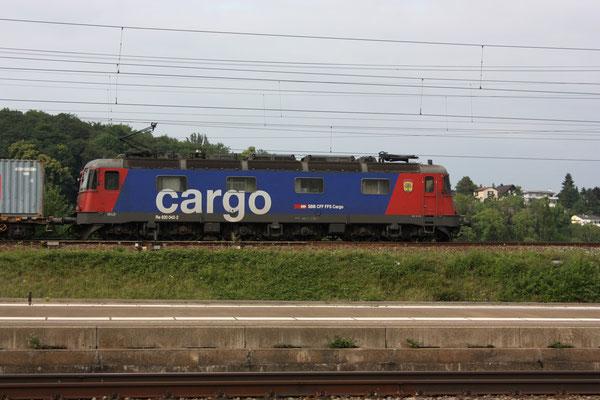"""Re 6/6 (Re 620) 11642 """"Monthey"""", Killwangen (03.06.2011) ©pannerrail.com"""