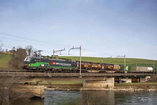 SBB Cargo International (ELL), BR 193 258, Rotkreuz (27.03.2021) ©pannerrail.com