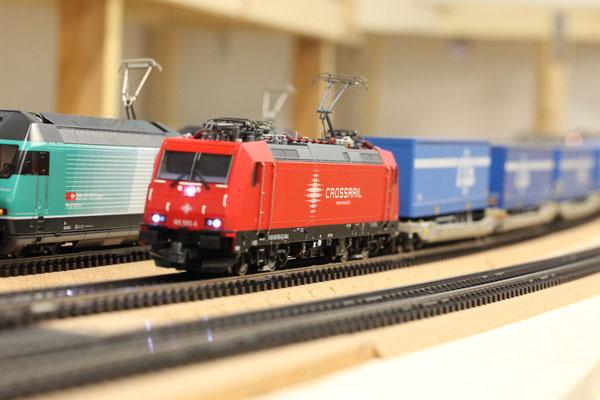 Crossrail Br 185 (Hersteller Roco)