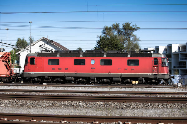 "Re 6/6 11609 ""Uzwil"", Rotkreuz (04.09.2013) ©pannerrail.com"
