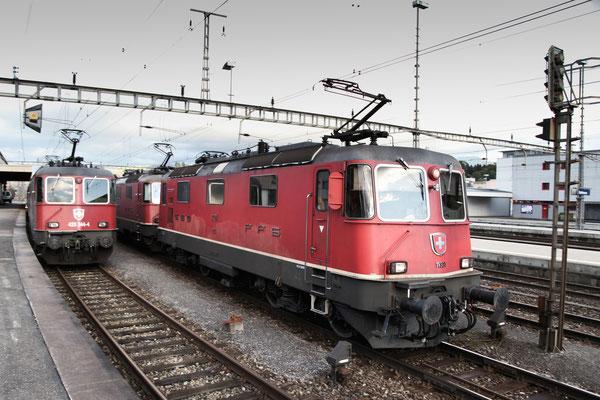Re 4/4, 11321, Rotkreuz (12.10.2012) ©pannerrail.com