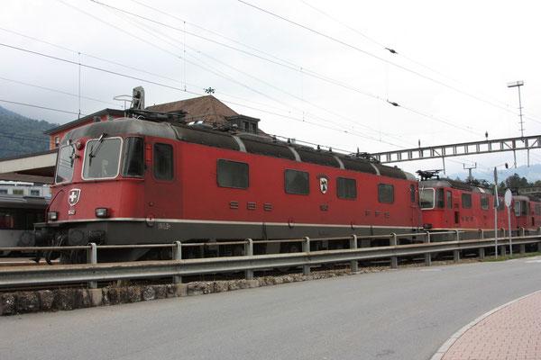 """Re 6/6 11640 """"Münchenstein"""", Arth-Goldau (26.09.2010) ©pannerrail.com"""
