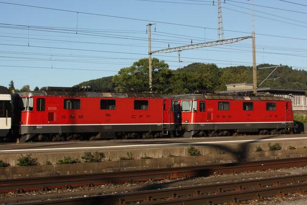 Re 4/4, 11154, Killwangen (30.08.2011) ©pannerrail.com