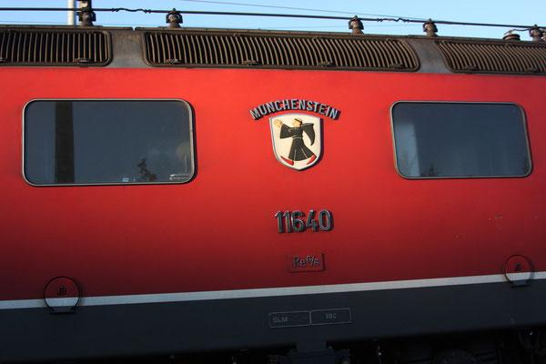 """Re 6/6 11640 """"Münchenstein"""", Killwangen (30.08.2011) ©pannerrail.com"""