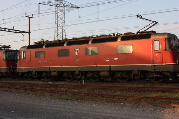 """Re 6/6  11613 """"Rapperswil"""", Oberrüti (15.07.2010) ©pannerrail.com"""