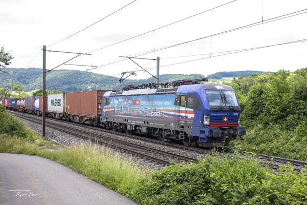 """SBB Cargo International, BR 193 525 """"Rotterdam"""", Hornussen (27.06.2021) ©pannerrail.com"""