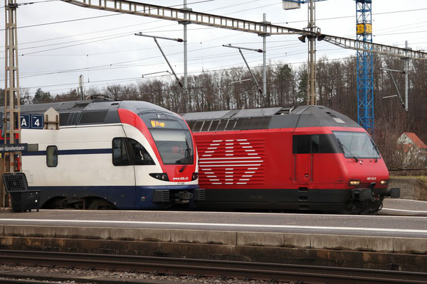 """Re 460 112-6 """"Thurtal"""" , Killwangen, 28.12.2012 (©pannerrail.com)"""