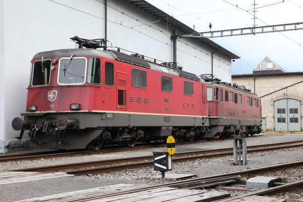 Re 4/4, 11262, Erstfeld (17.04.2012) ©pannerrail.com