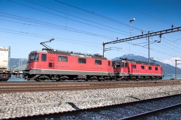Re 4/4, 11329, Immensee (05.09.2013) ©pannerrail.com
