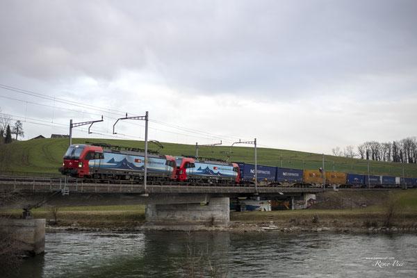 """SBB Cargo International, BR 193 463 """"Duisburg"""", Rotkreuz (27.02.2021) ©pannerrail.com"""