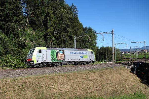 BLS Re 486 510, Rotkreuz (03.09.2013) ©pannerrail.com