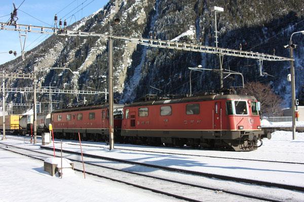"Re 6/6 11689 ""Gerra-Gambarogno"", Göschenen (30.12.2010) ©pannerrail.com"