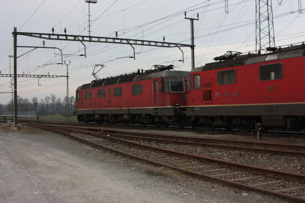 """Re 6/6 11648 """"Aigle"""", Oberrüti (12.03.2011) ©pannerrail.com"""