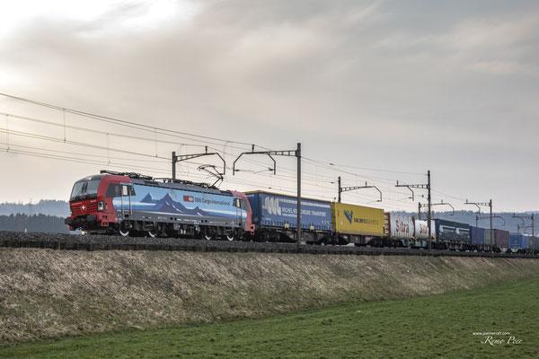 "SBB Cargo International, BR 193 477 ""Fulda"", Rotkreuz (27.03.2021) ©pannerrail.com"