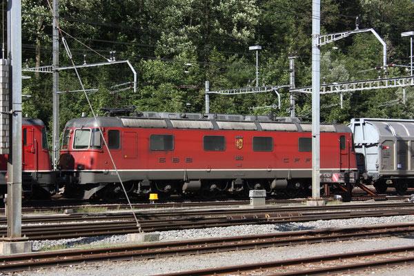 """Re 6/6 11653 """"Gümligen"""", Arth-Goldau (25.08.2010) ©pannerrail.com"""